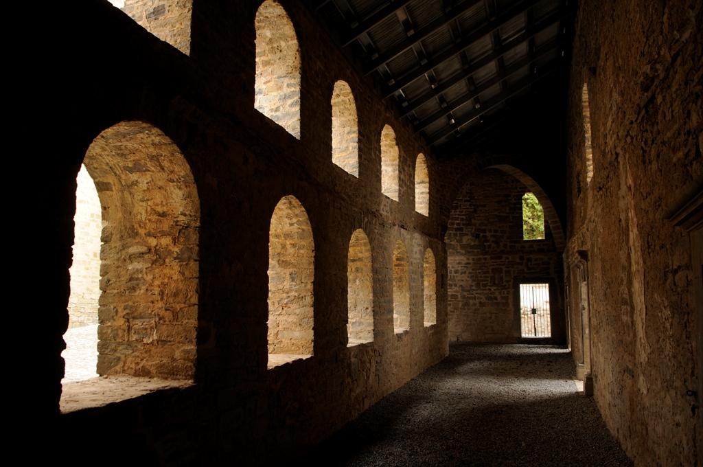 Claustro del monasterio. Foto: Archivo Comarca de Sobrarbe / N. Pardinilla