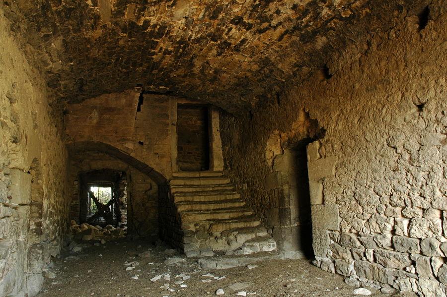 Zaguán del palacio de Rodrigo de Mur en Lapenilla (siglo XVI)